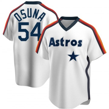 Replica Roberto Osuna Men's Houston Astros White Home Cooperstown Collection Team Jersey